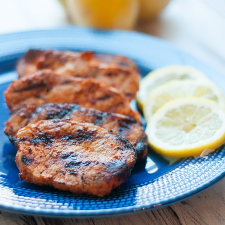 Quick and Easy Grilled Marinaded Pork Chops