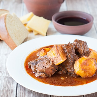Azores beef stew