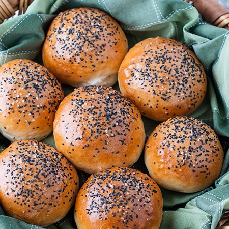 A Perfect Brioche Bun for Burgers