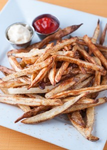 Spiced and Baked Fries