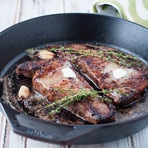 Steakhouse-Quality Seared Strip Loin Steak