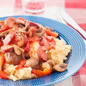 Chicken Cacciatore with Spanish Chorizo
