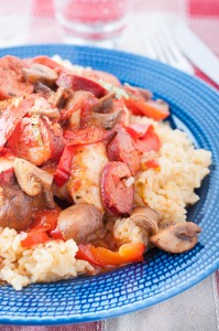 Chicken Cacciatore with Spanish Chorizo