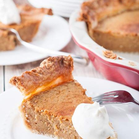Easy Homemade Pumpkin Pie