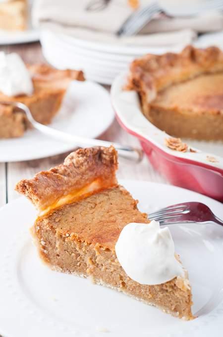 Easy Homemade Pumpkin Pie