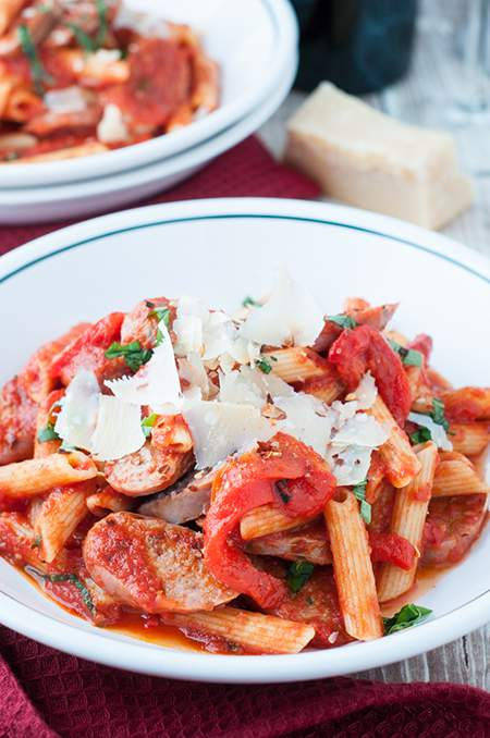 Easy Pasta and Italian Sausage Weeknight Dinner