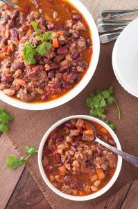 Amazing, Easy Beef Chili in the Slow Cooker