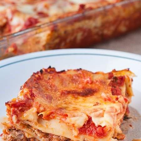 Amazing Meat Lasagna