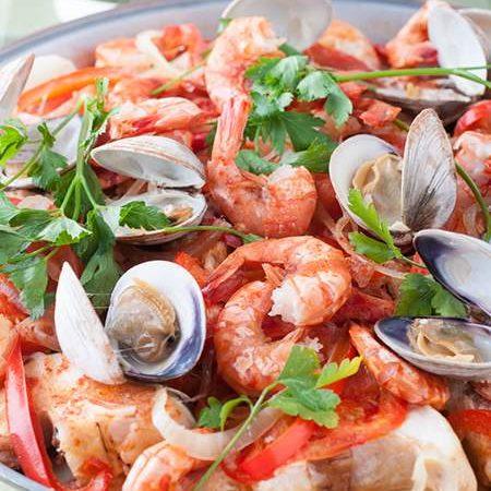 Portuguese Seafood & Fish Cataplana