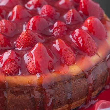 Fresh Strawberry Cheesecake Recipe