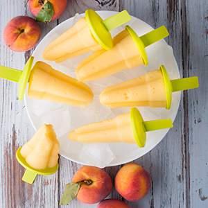Farmers' Market Peachsicles