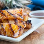 ​ Maple Glazed Grilled Pineapple