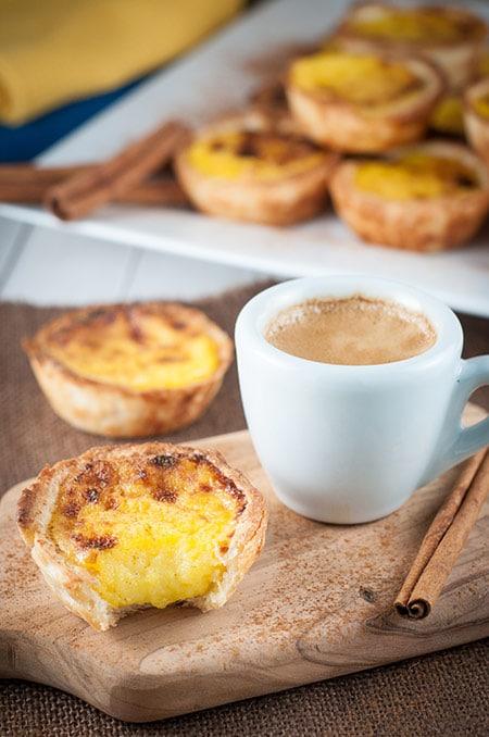 Homemade Portuguese Custard Tarts (Queijadas de Nata)