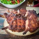 Smoked Pork Rib Chops