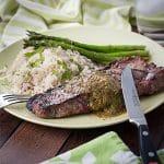 Strip loin steak