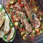 Roasted Pork Tenderloin and Potatoes