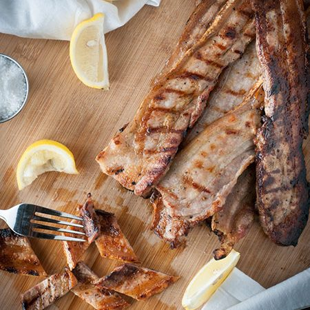 Portuguese Style Grilled Pork Belly (Entremeada)