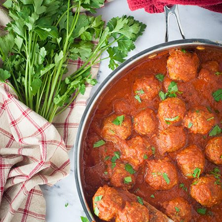 Three Meat Meatballs