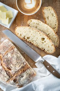 Artisan bread at home - No knead