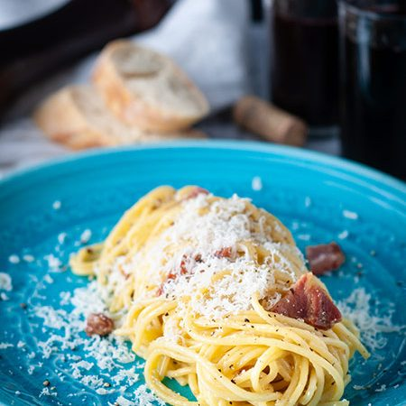 Spaghettoni Carbonara Recipe
