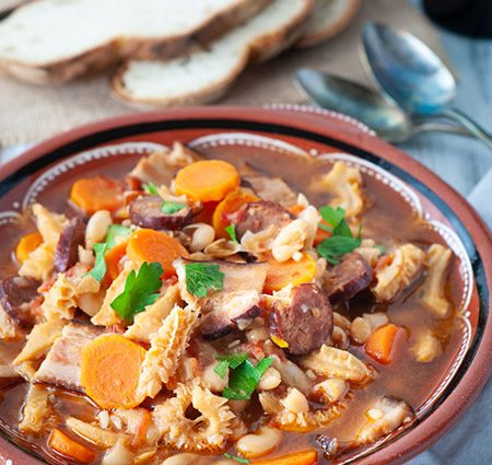 Dobrada – Portuguese Tripe and Bean Stew