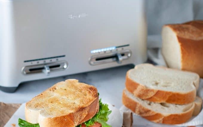 Gourmet Italian cold cut sandwich