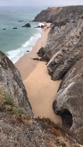 Beach in Cabo da Roca, Cascais