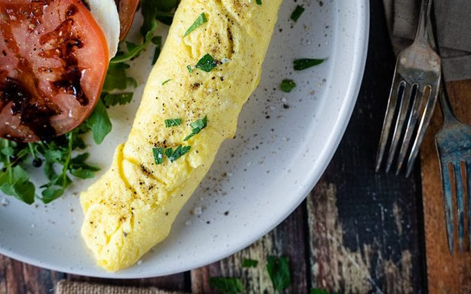Perfect French omelette