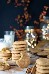 Snickerdoodle cookies