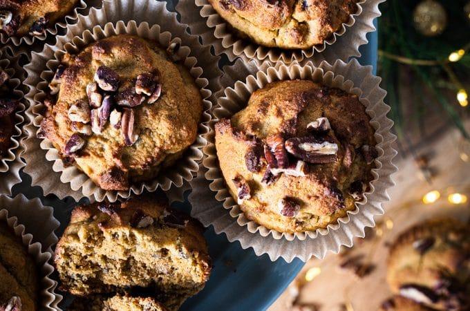 Pecan muffins