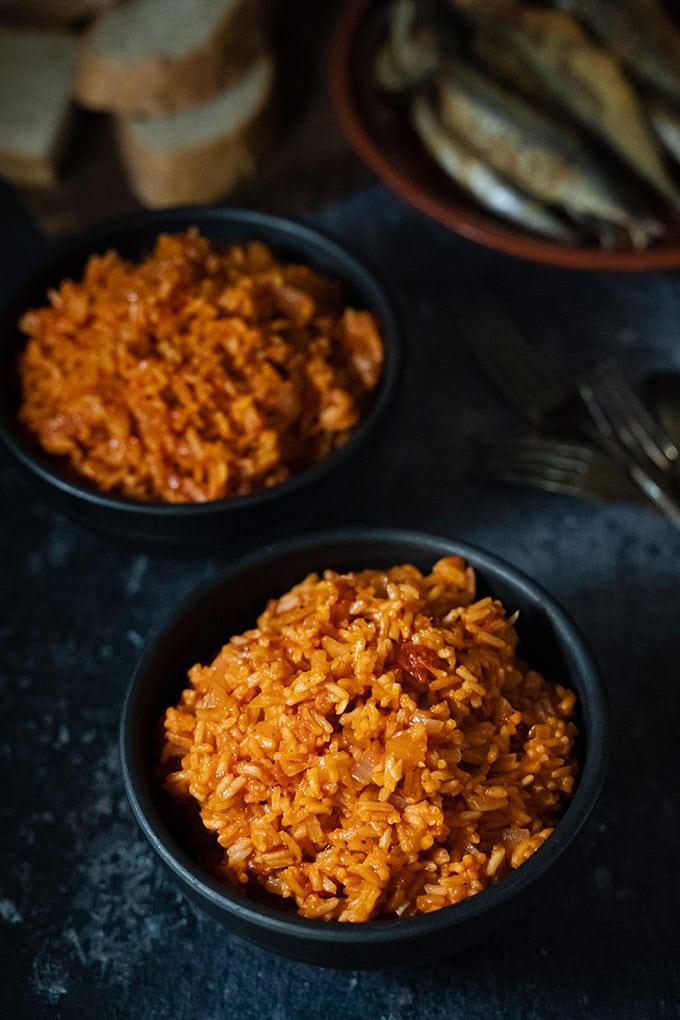 Portuguese tomato rice - Arroz de tomate