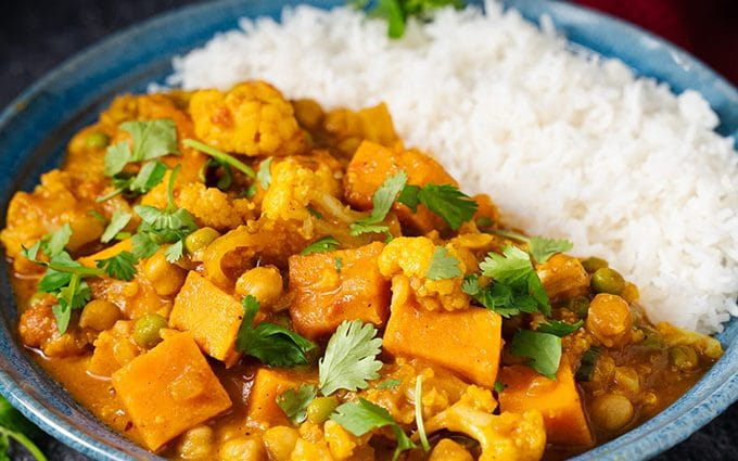 A damn fine vegetable curry recipe