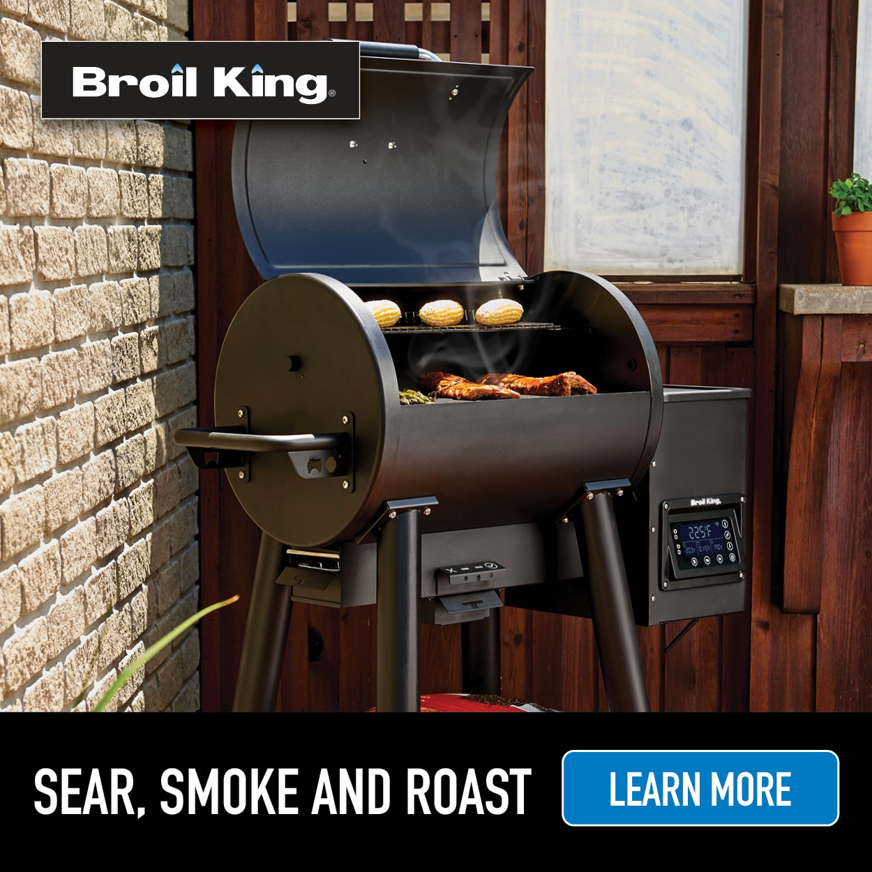 Broil King smoker