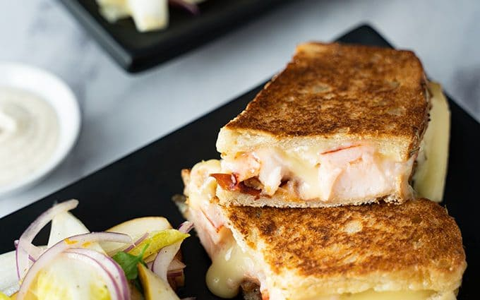 Chef Mark McEwan's Bymark Lobster Grilled Cheese from Chefdrop